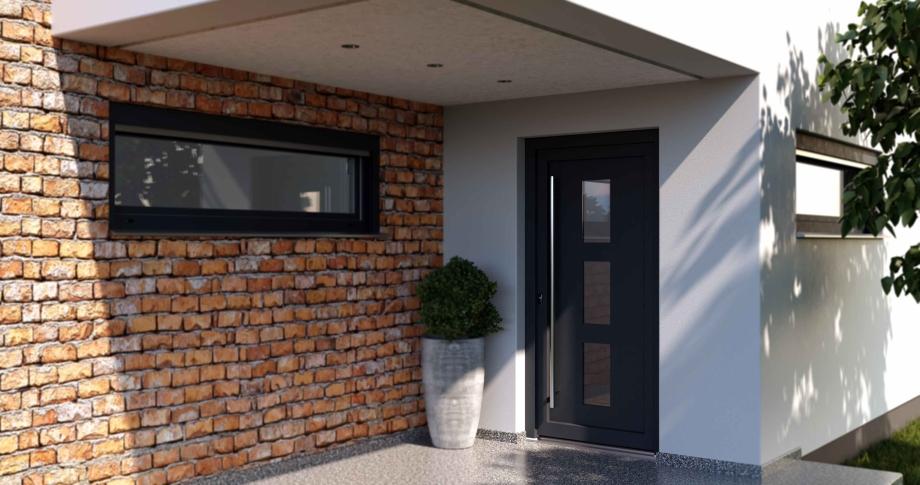 Hausturen Design Und Sicherheit Blaurock